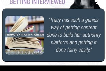 Grow Your Platform | Tracy Hazzard | Promote Profit Publish with Juliet Clark